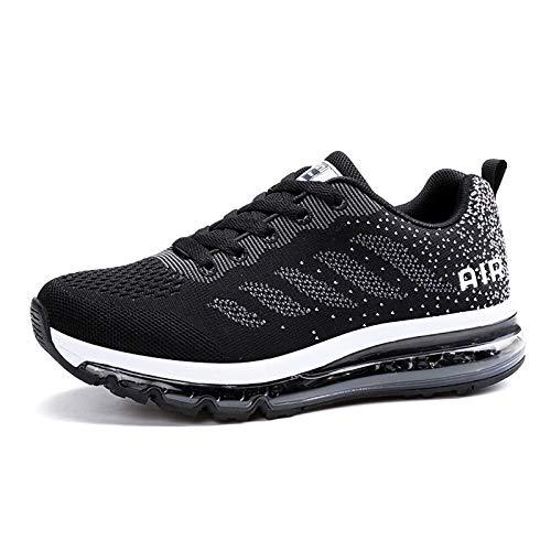 Smarten Zapatillas de Running Hombre Mujer Air Correr Deportes Calzado Verano Comodos Zapatillas Sport
