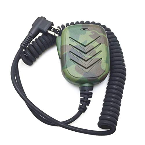 Loria Replacement for CP88 CP100 CP150 GP2000 GP2100 GP300 GP 308 GP68 Two Way Radios Camouflage MT600 Microphone ()