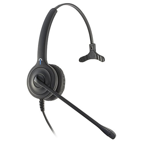 Leitner LH150 Corded USB Computer Headset with Skype for Business Call Control on the cord. 2-Year Warranty Included. Works with PC/Mac by Leitner