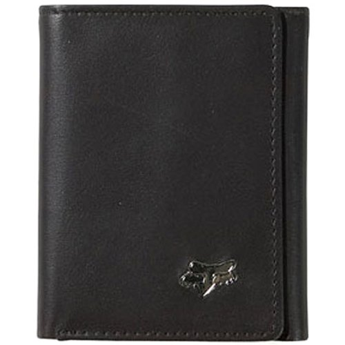 Fox Racing Leather (Fox Racing Sportswear Leather Trifold Men's Casual Wallet - Color:)