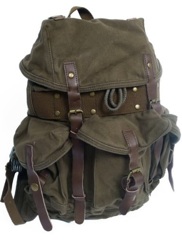 small-stylish-100-cotton-canvas-backpack-c02grn