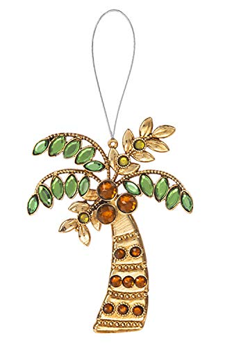 - Ganz Palm Tree Acrylic Crystal Ornament/Suncatcher, 4