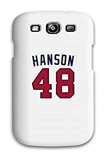 Hot Snap-on Atlanta Braves - Hanson Hard Cover Case/ Protective Case For Galaxy S3