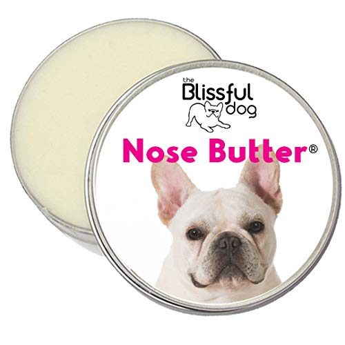The Blissful Dog Cream French Bulldog Unscented Nose Butter, 1-Ounce (French Bulldog Mixed With English Bulldog Puppies)