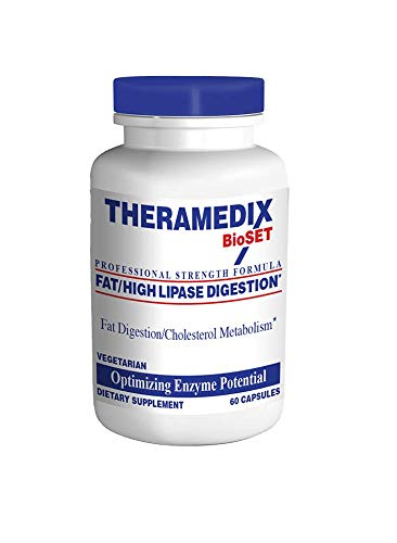 Theramedix - Fat High Lipase Digestion 60 caps (Formerly LPS) by Theramedix