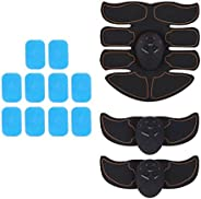 Kloware Abs Stimulator Workout Training Toning Belt Arms Sculpting Home Fitness Gear