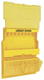 Master Lock Deluxe Valve and Electric Lockout Station, Unfilled