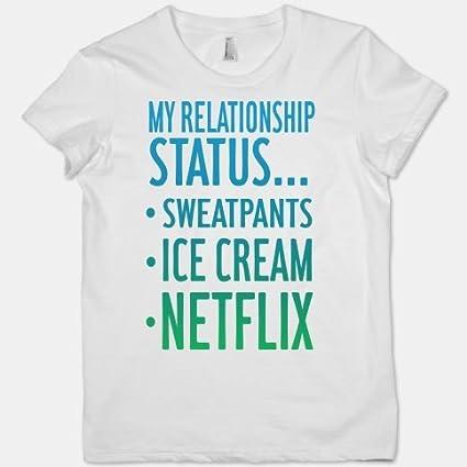 Amazon.com: My Relationship Status: Sweatpants, Ice-cream ...