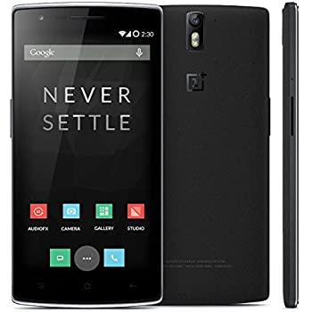 OnePlus One A0001 4G LTE 3GB-RAM 64GB-ROM 5.5 Inch International Version - No Warranty - Sandstone Black