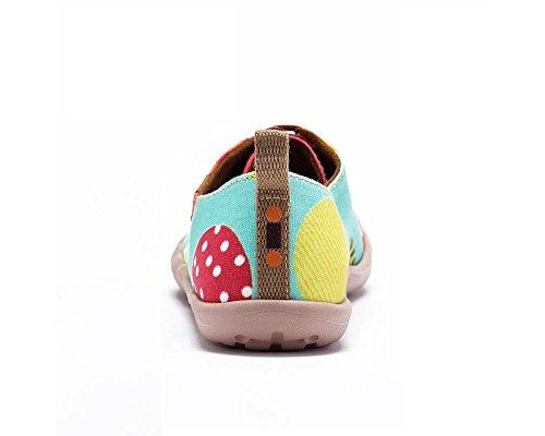 Uin Chaussures La Età Casual Toiles Pour Enfant Mode De Vert Ballon Volant adolescent E4wRTxr4q