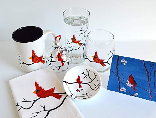 Cardinal Gift Set Collection - Personalized Gift Set for Mom