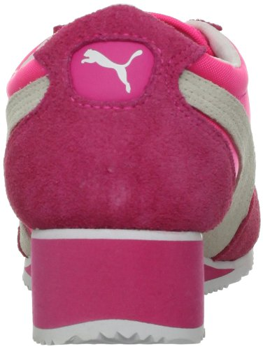 Puma Women's Caroline Wedge Fashion Sneaker Fluorescent Pink jjEjqg
