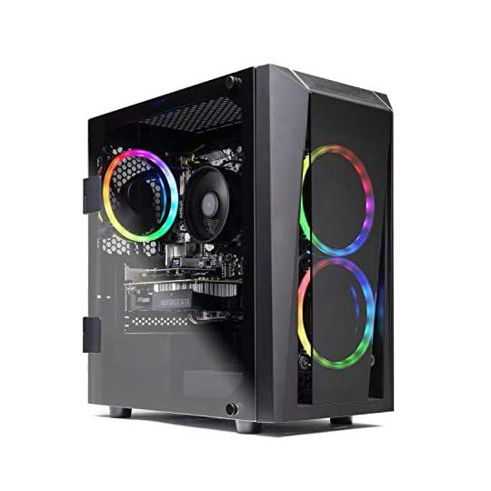 SkyTech Blaze II Gaming Computer PC Desktop – Ryzen 5 3600 6-Core 3.6GHz, GTX 1660 Super 6G, 500G SSD, 16GB DDR4 3000…