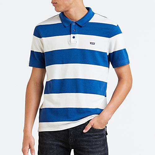 Galaxy Polo rugby 0076 Marshmallow Multicolore Housemark Blue Levi's Homme w7qgOwZ
