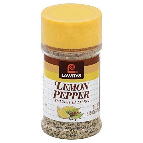 Lawrys, Lemon Pepper, 2.25-Ounce (12 Pack) by Lawry's