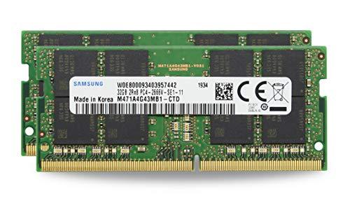 Adamanta 64GB (2x32GB) Geniune Factory Original Memory Upgrade for 2019 Apple iMac 27″ w/Retina 5K Display, Late 2018 Apple Mac Mini DDR4 2666MHz PC4-21300 SODIMM 2Rx8 CL19 1.2v DRAM RAM