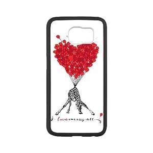 Samsung Galaxy S6 Phone Case Cover White Animal Printed EUA15972778 Plastic Phone Cases Fashion