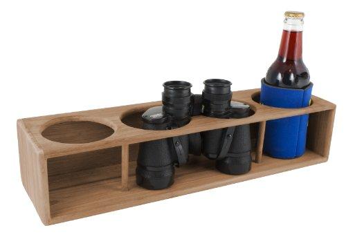 SeaTeak 62634 Insulated Four-Drink Binocular Rack ()