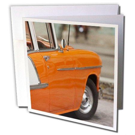 3dRose Cuba Havana Old Havana 1950S Era Classic Car CA11 WBI0283 Walter Bibikow Greeting Cards, Set of 12 (gc_134357_2)