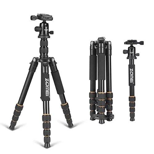 ZOMEI Camera Tripod,64.5 Inch Portable Magnesium Aluminium Monopod Professional Tripods With 360¡Degree Ball Head