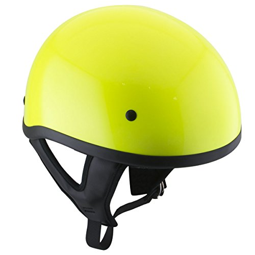 Motorcycle Helmet Yellow - 5