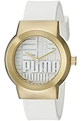 PUMA Women's PU103842003 Updown Analog Display Quartz White Watch