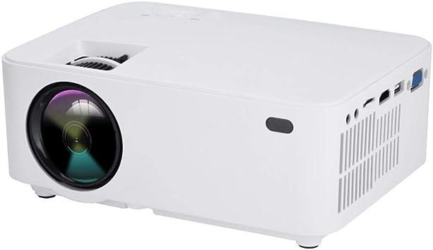 ASHATA Mini Proyector 3D,1080P Proyector LED Portátil para Cine en ...