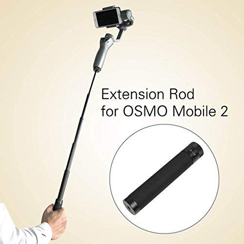 iKNOWTECH DJI OSMO Mobile 2 Extension Selfie Stick Handheld Gimbal Extension Rod Scalable Holder Selfie Stick for DJI OSMO Mobile 2