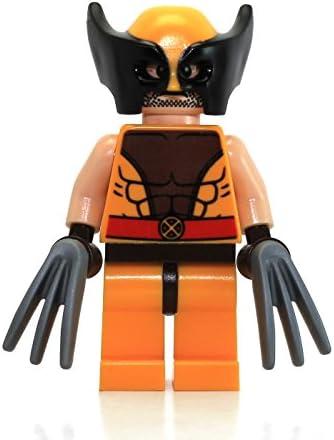 LEGO X-Men Marvel Super Heroes Wolverine MinifigureHair & Claws (76022)