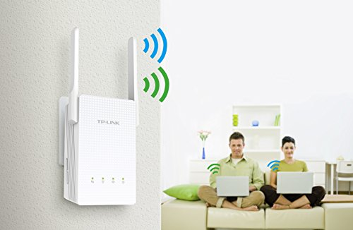 TP-Link AC750 Dual Band Wi-Fi Range Extender w/ Gigabit Ethernet Port (RE210) 5 Extends your network's Wi-Fi for reliable coverage in hard-to-reach areas Eliminate Wi-Fi dead zones throughout your home Compatible with 802.11b/g/n and 802.11ac Wi-Fi devices