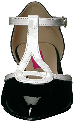 Patent FAB White wht Pink 428 Label Blk Pleaser EUYSwqn