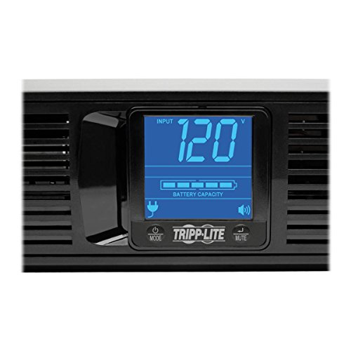 Tripp Lite 1500VA Smart UPS Battery Back Up, 900W Rack-Mount/Tower, LCD, AVR, USB, DB9 (SMART1500LCD) by Tripp Lite (Image #5)
