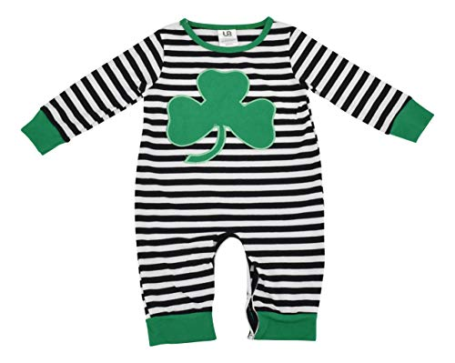 Unique Baby Unisex My 1st St Patrick's Day Jumper Layette Green