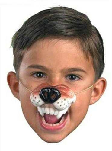Wolf Nose With Elastic (Latex Rubber Wolf Nose with Elastic Band)