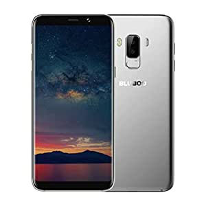 Freshzone Smartphone18: 9 Full View 6.0Inch Android 7.0 BLUBOO S8+ MTK6750T Oct 4G+64G Dual Camera Fast Charge Smartphone (Silver)