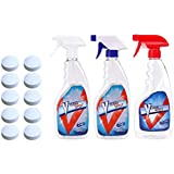 Sponges & Scouring Pads - 1 5 10pcs Multifunctional Effervescent Spray Cleaner Pad Set Bottle Home Cleaning Wiper Sprayer - Car Wash Washer Arrow Sprayer Sand Sprayer Super Spray Cleaner Bottle C