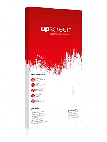 upscreen Scratch Shield Pellicola Protettiva Apple iPhone 6 Plus Posteriore (totale + LogoCut) Protezione Schermo – Trasparente, Anti-Impronte
