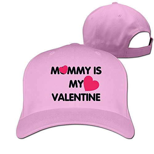 Mommy Is My Valentine Adjustable Fitted Caps Trucker