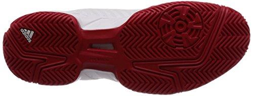 000 Adidas msilve scarle Court Biancoftwwht Tennis Barricade Da Uomo 3Scarpe GqSVLUMpz