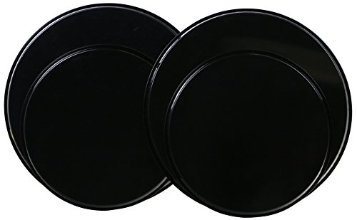 Reston Lloyd Electric Stove Burner Covers, Set of 4, Black