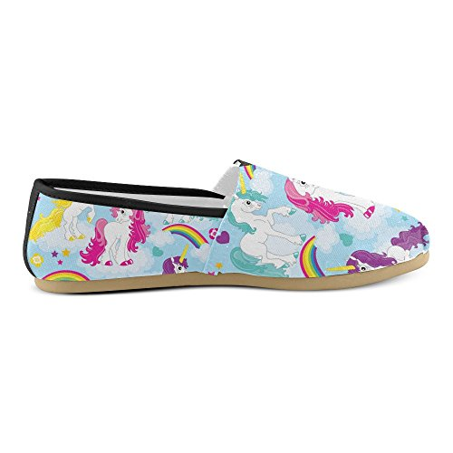 InterestPrint Day Of The Dead Halloween Cats Loafers Casual Shoes For Men Women Unicorn6 cJ4PmDozyq