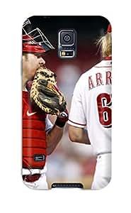 1211706K717388652 cincinnati reds MLB Sports & Colleges best Samsung Galaxy S5 cases hjbrhga1544