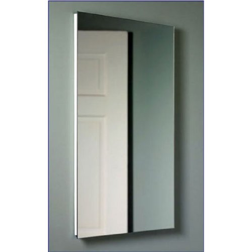 (Broan-NuTone 1035P34WHG Cove Single-Door Recessed Medicine Cabinet, White Baked Enamel)