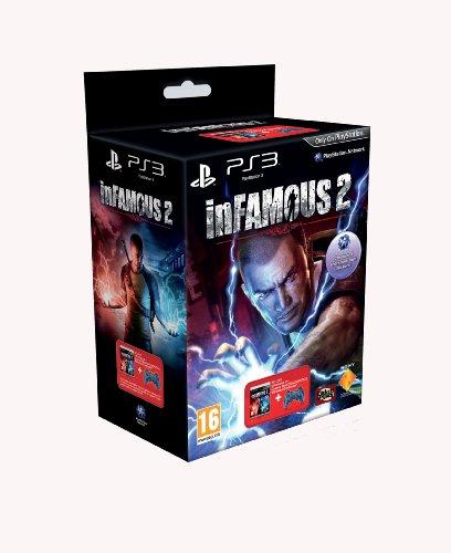 inFAMOUS 2 - Cosmic Blue Controller Bundle (PS3) (Infamous Ps3 Controller)
