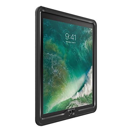 chollos oferta descuentos barato LifeProof Nuud Funda sumergible para Apple iPad Pro de 12 9 pulgados 2da generación color negro y transparente