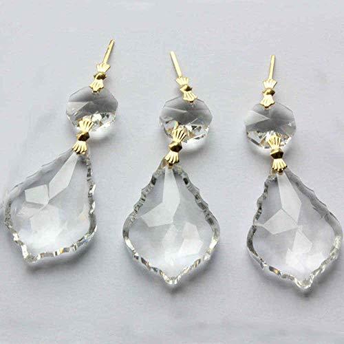 Crystal Drops Pendant | Chandelier/Prisms/Maple Leaf/Hanging Lighting 10pcs /lot