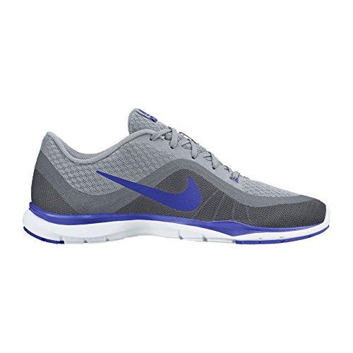 Nike Mujeres Flex Trainer 6 Wolf Grey / Paramount Blue / Cool Grey