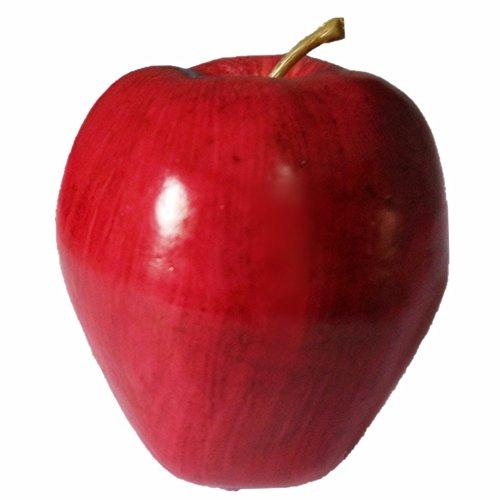 SFamily 10pcs Decorative Red Delicious Apples Artificial Plastic Fruits Home Desk Tables Decor