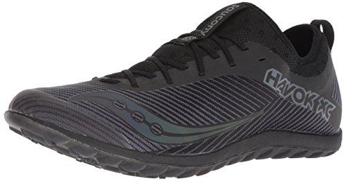 (Saucony Men's Havok XC2 Flat Track Shoe, Black, 10.5 M US)