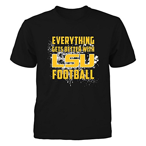 LSU Tigers - Everything - Gildan Youth T-Shirt - Officially Licensed Fashion Sports Apparel